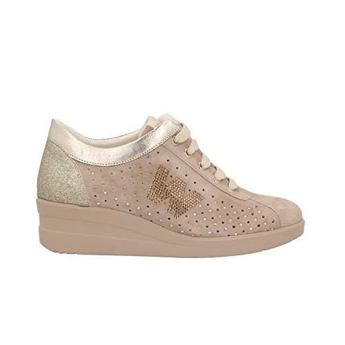 Sneakers Donna Zeppa R20134 Melluso Corda Scarpe cpZa1HHTwq