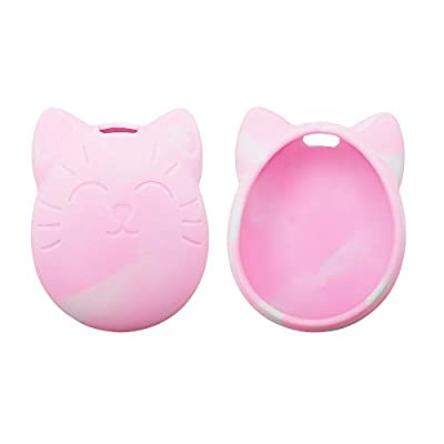 GoolRC Protective Cover Shell, Silicone Case, Pet Game Machine Cover for Tamagochi Cartoon Electronic Pet Game Machine (Pink): Toys & Games