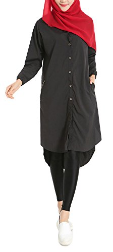 Used, Plaid&Plain Women's Summer Chiffon Muslim Kaftan Abayas for sale  Delivered anywhere in USA