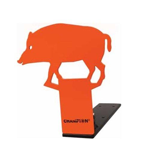 Champion Pop-Up Hog 22 Rimfire Metal Target ()
