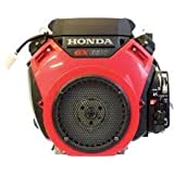 Honda V-Twin Horizontal OHV Engine with Electric Start - 688cc, GX Series, 1in. x 2 29/32in. Shaft,