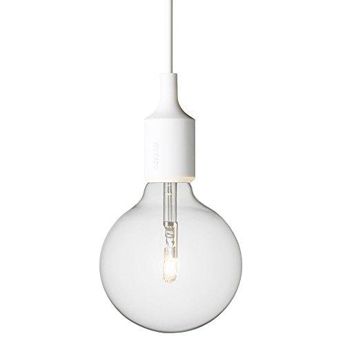JINGUO Lighting Bright Adjustable Edison Bulb Single Lights Silicone Light Pendant Lighting Hanging Lamp ceiling Fixture in modern Style for Indoor Restaurant Barn Use standard Light Bulb (Kalco Copper Table Lamp)