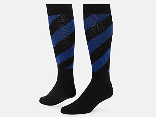 Red Lion Tornado Athletic Sock ( Black / Royal Blue - Medium - Royal Socks Tornado