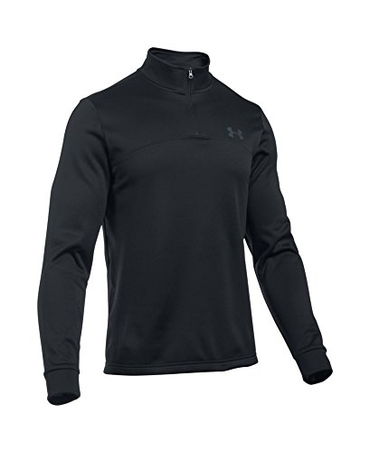 Under Armour Men's Storm Armour Fleece 1/4 Zip, Black (001)/Graphite, Small by Under Armour (Image #3)