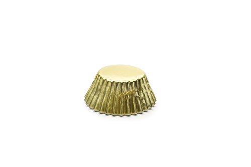 mini cupcake liner gold - 6