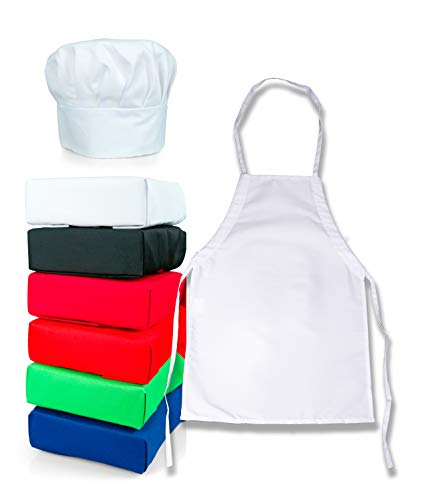 chef apron and hat for girls - 5