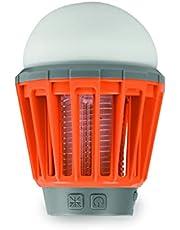 SCS Sentinel Muggenlantaarn, USB – lamp voor buiten met variatie van het licht – tot 180 lm – waterdicht – muggenlamp via USB oplaadbaar – kabel meegeleverd