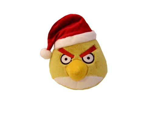 "Angry Birds 5"" Limited Edition Christmas Plush - Yellow Bird"