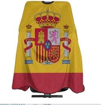 Capa De Corte De Pelo Bandera De España Delantal De Corte De Pelo ...