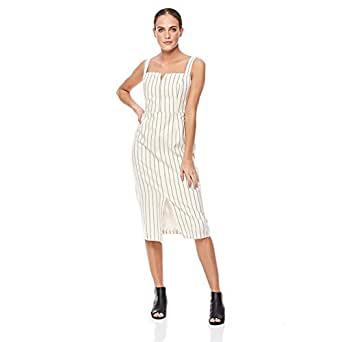 Trendyol Straight Dress for Women - White, Size M