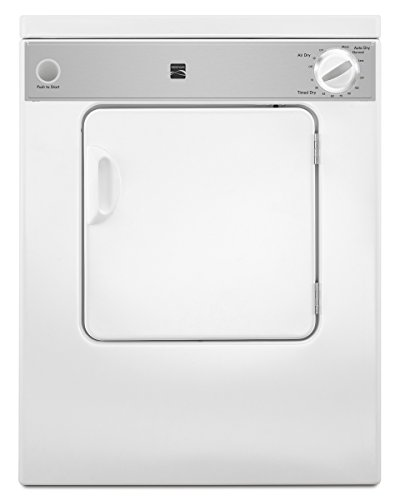Kenmore 84422 3.4 cu. ft. Compact Electric Dryer, White