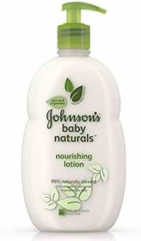 3 Johnson baby naturals nourishing lotion 18 oz each