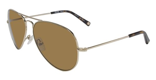 10a55fd58f Image Unavailable. Image not available for. Color  Michael Kors Jet Set  Aviator Sunglasses M2047S 717 Gold ...