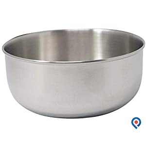 "Pivit Small Antibacterial Stainless Steel Cooking Mixing & Prep Bowl | 12 Ounces | 4 1/2"" x 2"" 