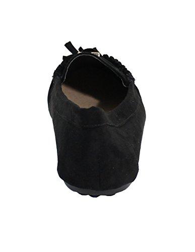 by Bailarinas para Shoes Negro Mujer rwYzr5fq