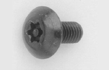 鉄 小ネジ クロメート TRXタンパー(トラス小ネジ) M3.0x15