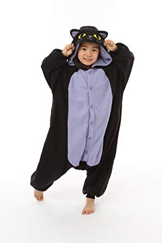 Animal Kids Kigurumi (5-9 Years, Spooky Cat) -