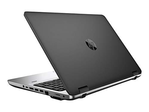 HP ProBook 650 G2 15.6 Inch Business Laptop PC, Intel Core i5 6300U up to 3.0GHz, 16 GB DDR4, 256 GB SSD, WiFi, DVD, VGA, DP, Win 10 Pro 64 Bit-Multi-Language Supports English/Spanish/French(Renewed)