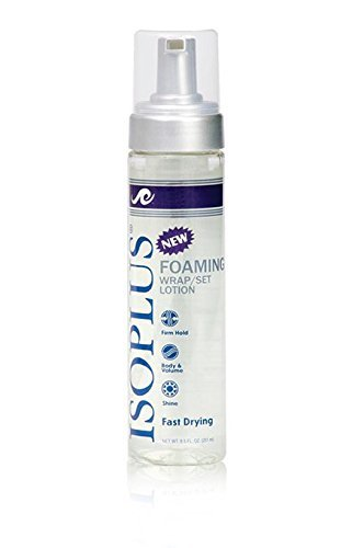 Isoplus Foaming Wrap/Set Lotion, Firm Hold 8.5 Oz (Best Setting Lotion For Black Hair)