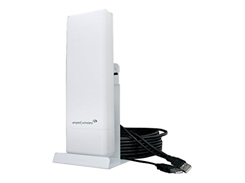 Amped Wireless High Power Wireless-N 600mW Pro USB Adapter White UA600EX