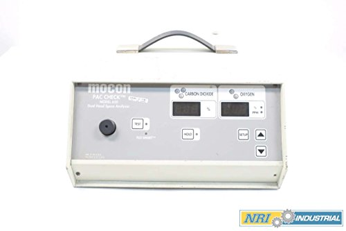 Mocon 650 Pac Check Dual Head Space Analyzer 120V Ac D572136