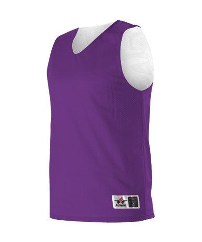 Mesh Reversible Jersey- 3xl Purple/White