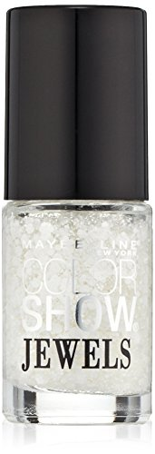 Maybelline New York Color Show Jewels Nail Lacquer Top Coat, Precious Pearl, 0.23 Fluid Ounce