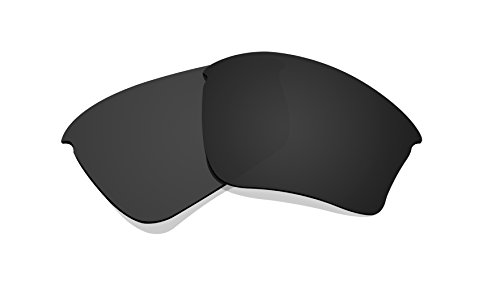 Black Polarized Replacement Lenses for Oakley Half Jacket XLJ - Lenses Replacement Oakley Half Xlj Jacket