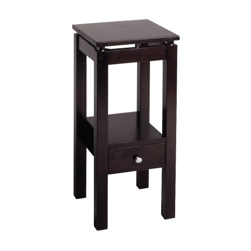 Winsome Wood 92714 Linea Accent Table, Espresso