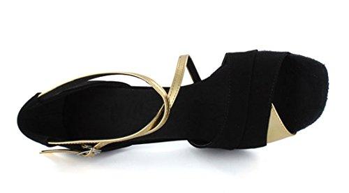 TDA - salón mujer 7.5cm Gold Black
