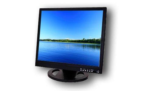 """17"""" LCD Monitor VGA and BNC"""