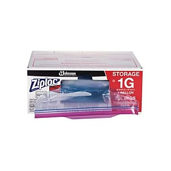 Amazon Com Ziploc R Storage Bags 1 Gallon Box Of 250