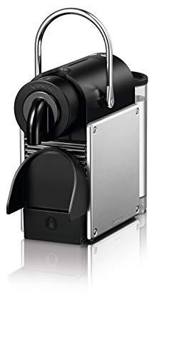 De'Longhi EN 124.S Nespresso Pixie EN124.S Macchina per caffè Espresso, 1260 W, Plastica, Argento, 0.7 Litri, Metallo 4