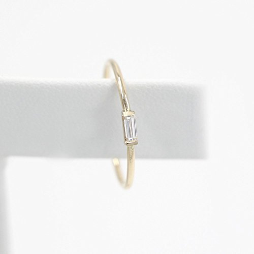 Diamond Wedding Band, Diamond Wedding Ring, Diamond Engagement Band, Diamond Engagement Ring, Baguette Diamond Ring by JSVConcept