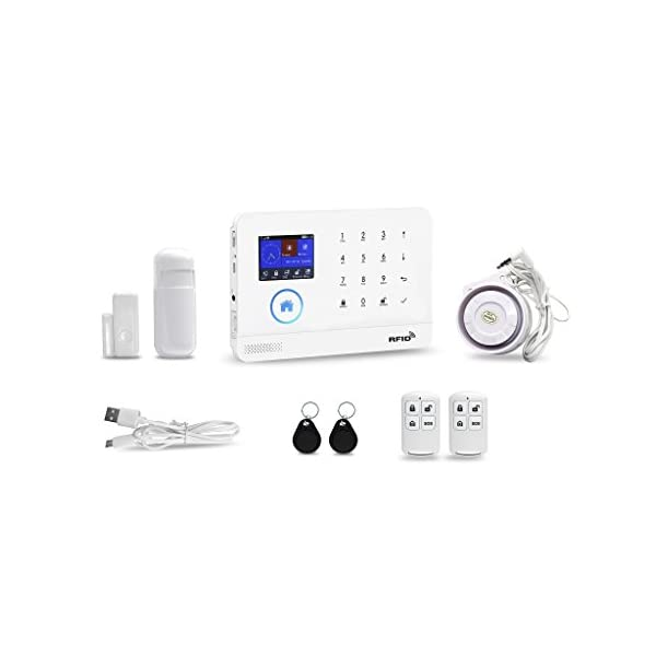 WIFI Smart Door Window Sensor Wireless Remote Control For Home Alarm Security