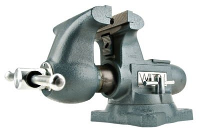 Wilton 63201 Tradesman Vises, 6 1/2'' Jaw, 4'' Throat, Swivel Base by Wilton