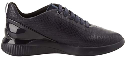Geox Femme navy C4078 Theragon dk D Sneakers Basses Bleu C Navy rr4wqa
