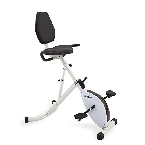 FitDesk Folding Stationary Exercise