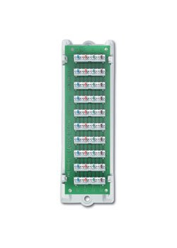 Leviton 47689-B8 8-PORT BRIDGED TELEPHOne DIST Module (Dist Module Power)