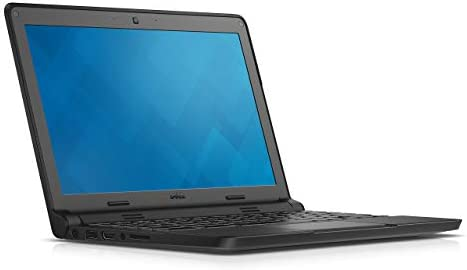 Dell Touchscreen Chromebook 11 3120 Intel Celeron N2840, 4GB RAM, 16GB eMMC SSD Storage, Chrome OS, Black (Renewed)