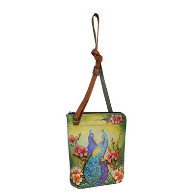 Anuschka 493 Hand Bag,Pasionate Peacocks,One Size