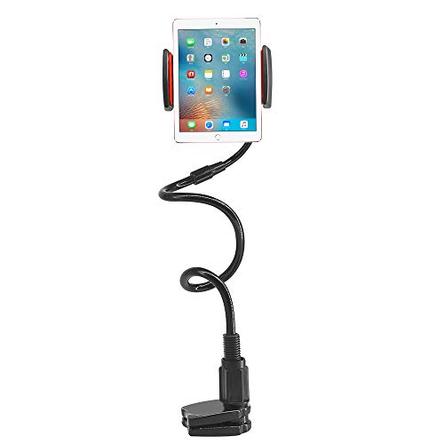 Tablet Mount Stand Gooseneck Multifunction 360 Degree Adjustable Stands Holders for Phone Series/Nintendo Switch/Samsung Galaxy Tabs, 36.64in Overall Length, Black by Pengsha Qi
