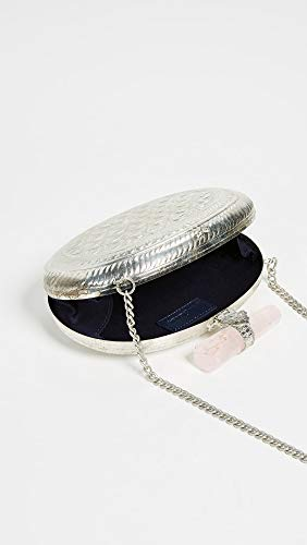 Sam Box Women's Pink Verena Clutch with Crystals Edelman tq8rOat