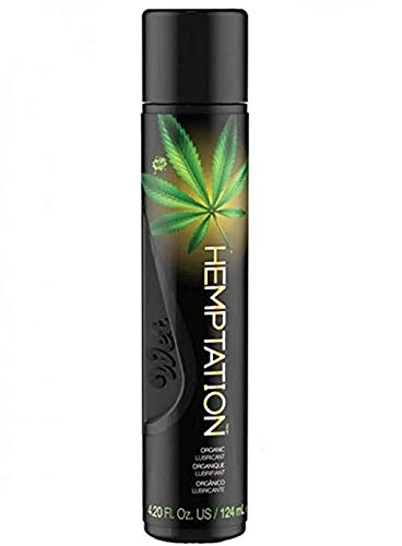 Wet Hemptation All Natural Personal Lube 4.2 Fl ()