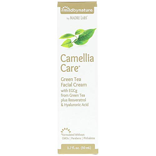 Madre Labs Camellia Care Green Tea Skin Cream 1 7 fl oz 50 ml ()