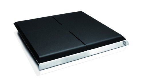 One For All SV 9395 Full HD DVB-T Zimmerantenne mit 51 dB Verstärkung, Design Line, schwarz/silber