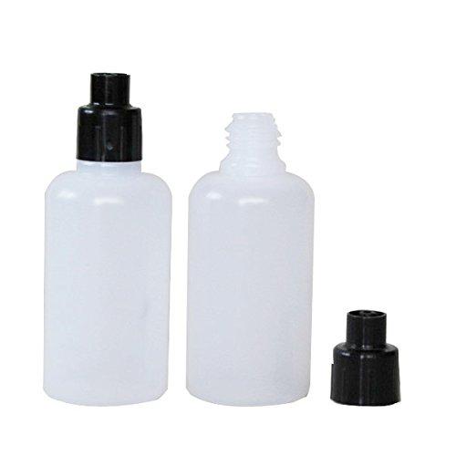 30ml Squeezable Bottle Dispensing Bottle with Luer Lock Transfer Cap 10 Units