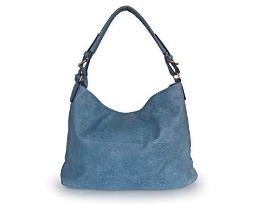 Unique Sac Sabarry pour Main Bleu Femme à Noir Taille 0q11rxd