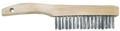 6 each: Hyde Wire Scratch Brush With Wood Shoe Handle (46847)