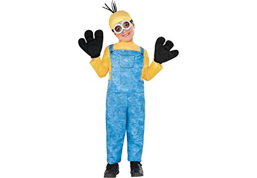 Rubie's Costume Co Minion Kevin Halloween Costume for Boys, Extra Small, with Included Accessories -